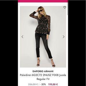 BNWT Emporio Armani women's blouse.